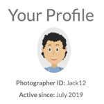 See how easy it is to create a pixHere account.